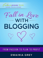 Fall in Love with Blogging