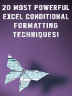 20 Most Powerful Conditional Formatting Techniques