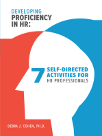 Developing Proficiency in HR