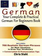German Your Complete And Practical German For Beginners Book
