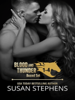 Blood and Thunder books 1-4