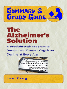 Summary & Study Guide - The Alzheimer's Solution: A Breakthrough Program to Prevent and Reverse Cognitive Decline at Every Age: Summary & Study Guide, #17