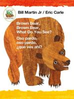 Brown Bear, Brown Bear, What Do You See? / Oso pardo, oso pardo, ¿qué ves ahí? (Bilingual board book - Spanish edition)