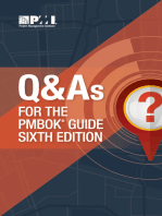 Q & As for the PMBOK® Guide Sixth Edition
