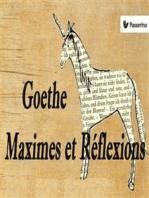 Maximes et Réflexions