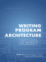 Writing Program Architecture