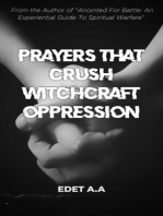 Prayers That Crush Witchcraft Oppression