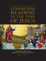 Communal Reading in the Time of Jesus