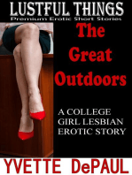 The Great Outdoors:A College Girl Lesbian Erotic Story