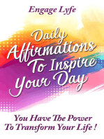 Daily Affirmations To Inspire Your Day