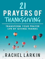 21 Prayers of Thanksgiving