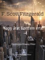 F. Scott Fitzgerald Nagy árat fizettem érte