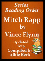 Vince Flynn's Mitch Rapp Series Reading Order Updated 2019