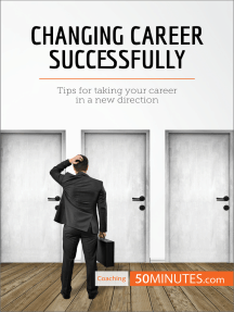 Changing Career Successfully: Tips for taking your career in a new direction