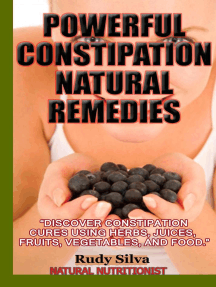 Powerful Constipation Natural Remedies: Nutritional