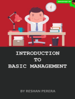 Introduction to Basic Management