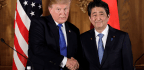 Trump, During Visit To Japan, Talks Trade And North Korea