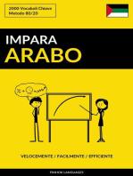 Impara l'Arabo