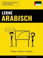 Lerne Arabisch