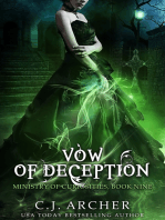 Vow of Deception (Book 9 in the Ministry of Curiosities series)
