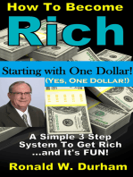How To Become Rich Starting With $1