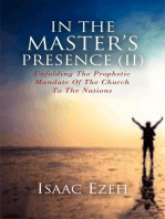 IN THE MASTER'S PRESENCE (II)