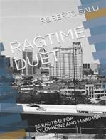25 Ragtime for Xylophone and Marimba