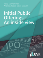 Initial Public Offerings – An inside view