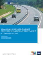 Challenges in Implementing Best Practices in Involuntary Resettlement: A Case Study in SriLanka