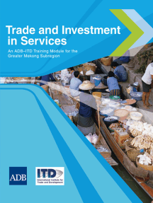 Trade and Investment in Services: An ADB–ITD Training Module for the Greater Mekong Subregion