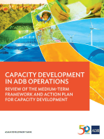 Capacity Development in ADB Operations