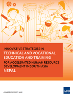 Innovative Strategies in Technical and Vocational Education and Training for Accelerated Human Resource Development in South Asia: Nepal