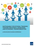 Sustainable Vocational Training Toward Industrial Upgrading and Economic Transformation: A Knowledge Sharing Experience