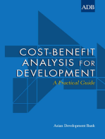 Cost-Benefit Analysis for Development