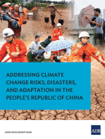 Addressing Climate Change Risks, Disasters and Adaptation in the People's Republic of China
