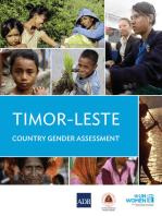 Timor-Leste Gender Country Gender Assessment