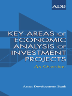 Key Areas of Economic Analysis of Investment Projects: An Overview