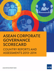ASEAN Corporate Governance Scorecard: Country Reports and Assessments 2013–2014