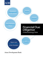 Financial Due Diligence: A Methodology Note