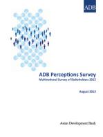 ADB Perceptions Survey