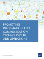 Promoting Information and Communication Technology in ADB Operations