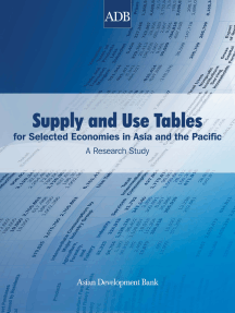 Supply and Use Tables for Selected Economies in Asia and the Pacific: A Research Study