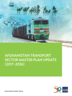 Afghanistan Transport Sector Master Plan Update (2017-2036)