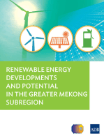 Renewable Energy Developments and Potential for the Greater Mekong Subregion