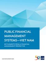 Public Financial Management Systems—Viet Nam: Key Elements from a Financial Management Perspective