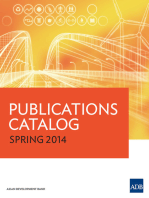 ADB Publications Catalog 2014