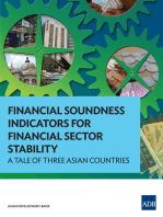 Financial Soundness Indicators for Financial Sector Stability: A Tale of Three Asian Countries