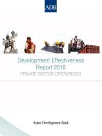 Development Effectiveness Report 2010
