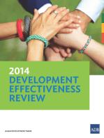 2014 Development Effectiveness Review