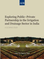 Exploring Public–Private Partnership in the Irrigation and Drainage Sector in India
